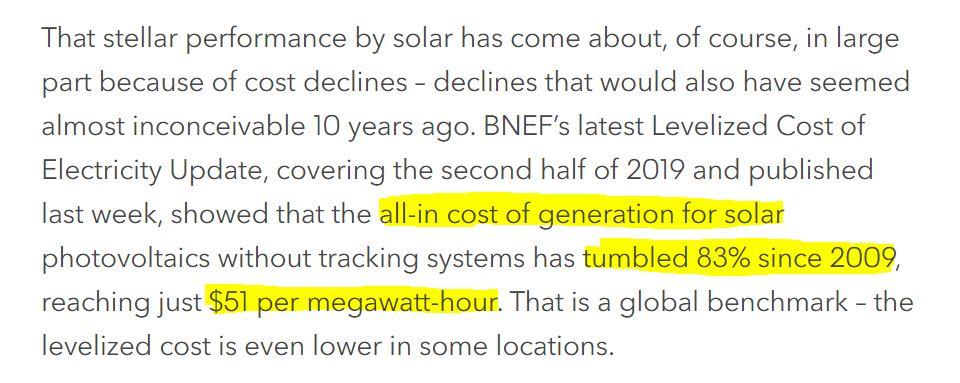 solární energie
