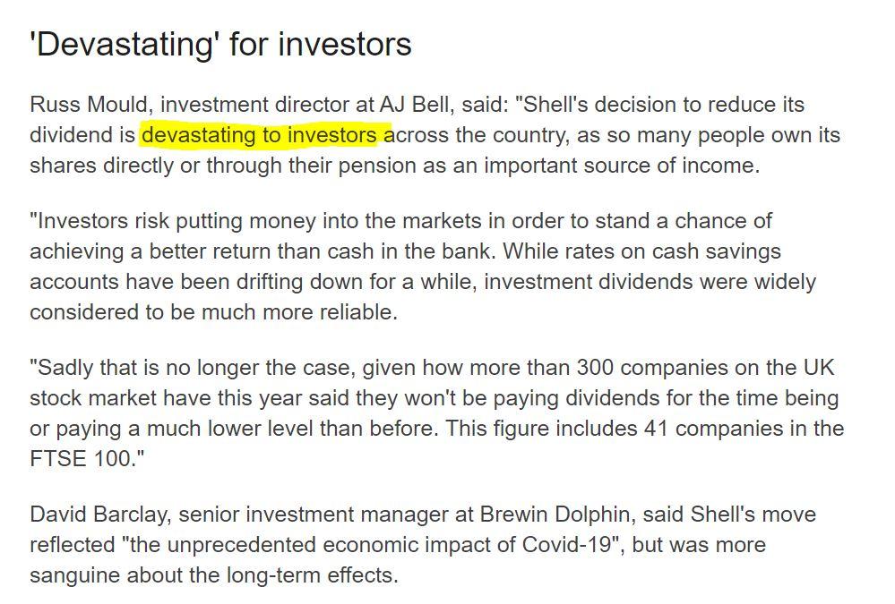 riziko dividendové akcie