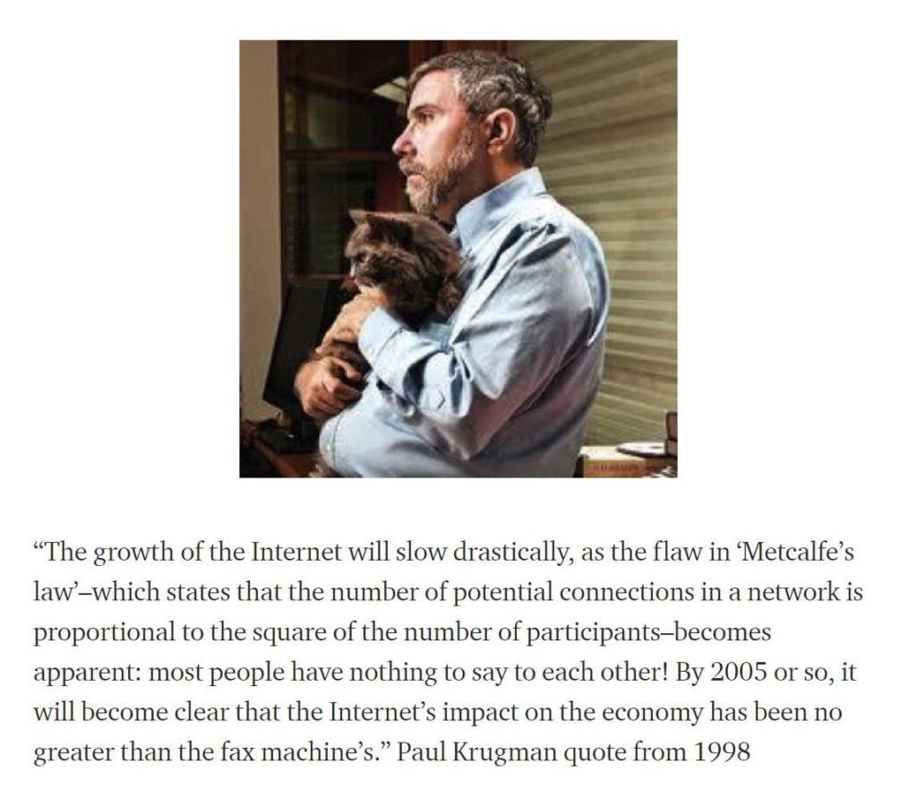 predikce krugman